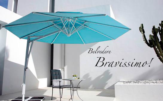 Caravita Belvedere parasol